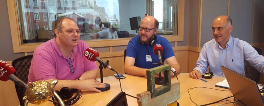 Hablando sobre Mentoring en Capital Radio