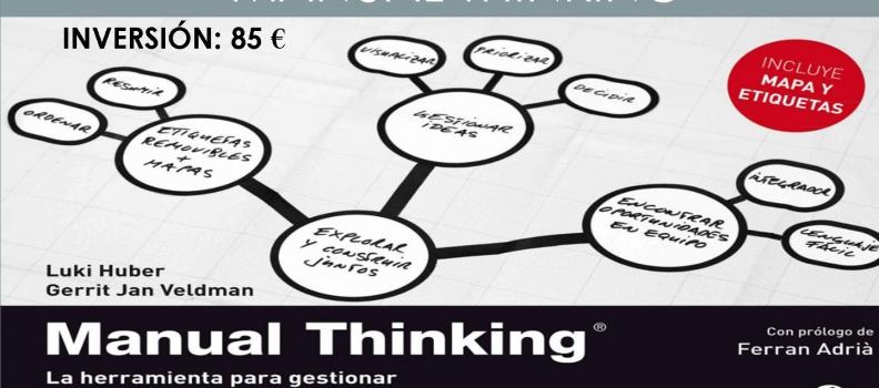 Taller sobre innovación y creatividad a través de Manual Thinking en Badajoz