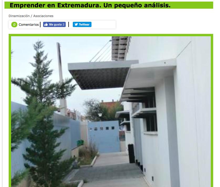 Emprendimiento en Extremadura