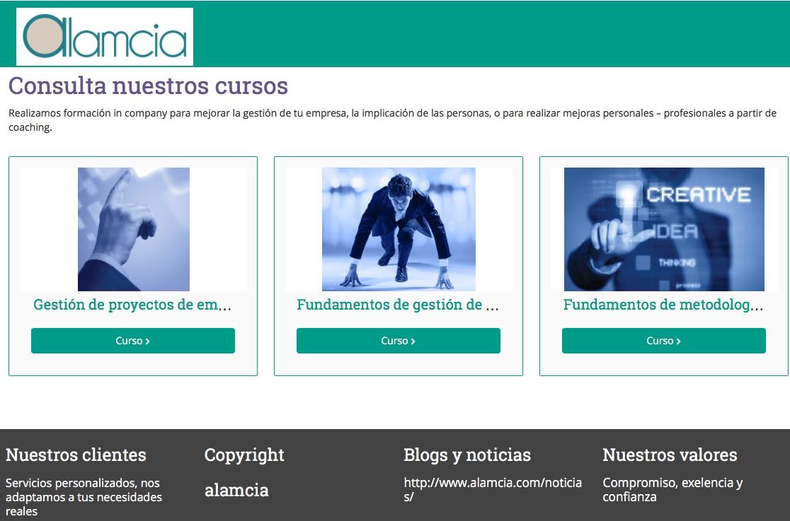 Campusalamcia – Nuestra plataforma de formación online